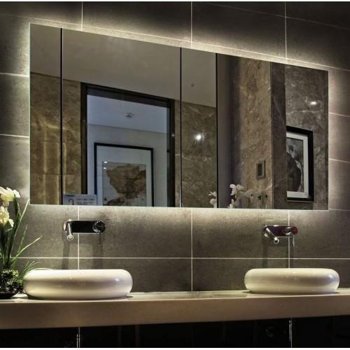 Зеркало с внутренней подсветкой для ванной комнаты Варна