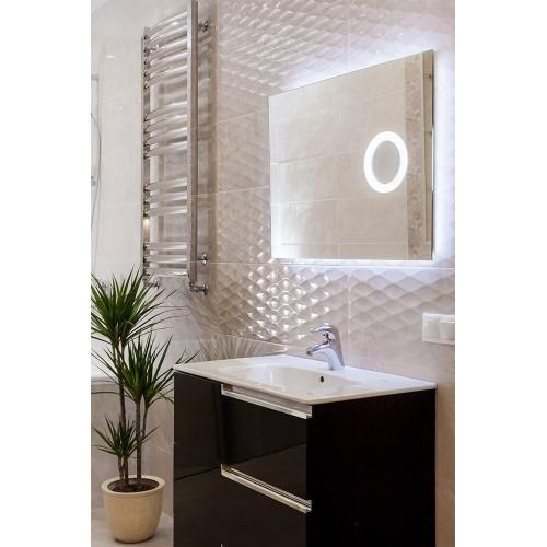 Зеркало в ванную с внутренней подсветкой Ханна