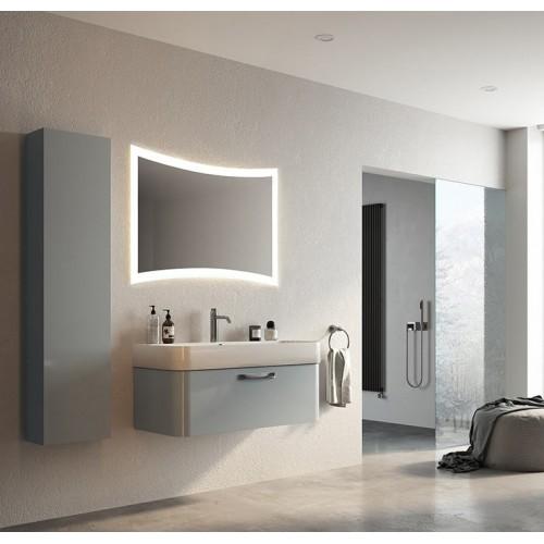 Зеркало с LED подсветкой для ванной Александра